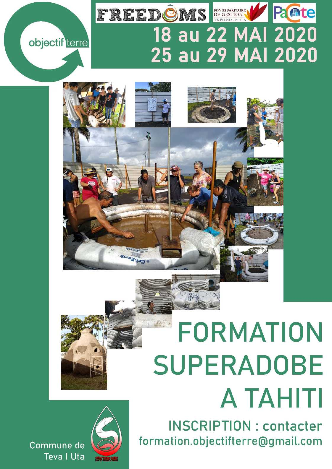 Formation SUPER ADOBE TAHITI
